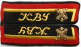 Петлицы курсантов военных училищ, полковых школ