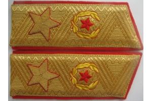 Парадные погоны Генерала Армии образца 1974 года, копия, СССР