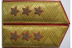Погоны общевойсковые генерал-полковника, образца 1970 года, СССР, копия