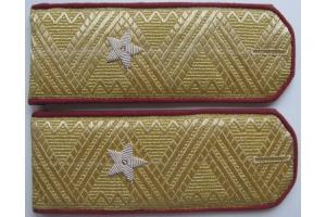 Повседневные погоны генерал-майора пехоты РККА образца 1943 года, СССР, копия