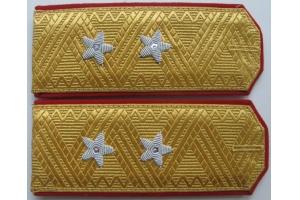 Повседневные погоны генерал-лейтенанта РККА образца 1943 года, СССР, копия