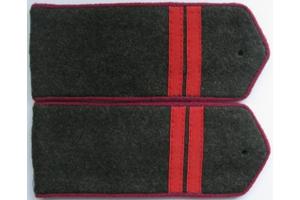 Погоны полевые, младший сержант (пехота) РККА,образца 1943 года, СССР, копия