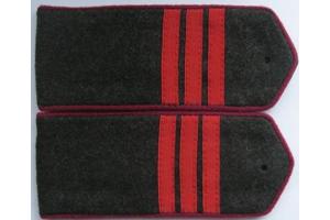 Погоны полевые, сержант (пехота) РККА,образца 1943 года, СССР, копия