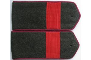 Погоны полевые, старший сержант (пехота) РККА,образца 1943 года, СССР, копия