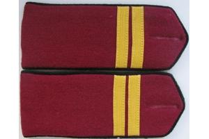 Погоны повседневные, младший сержант (пехота) РККА,образца 1943 года, СССР, копия