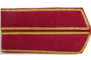 Петлицы ком состава , пехота, РККА образца 1936 года , копия