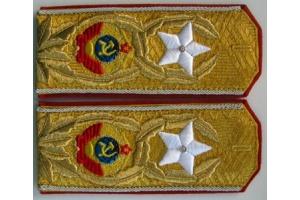 Погоны Генералисимуса СССР, проектный вариант, копия