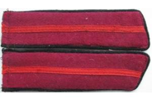 Петлицы образца 1940 года, Младший начсостав, пехота, СССР, копия