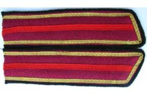 Петлицы старшины пехоты , образца 1940 года, СССР, копия