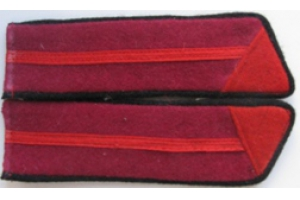 Петлицы образца 1940 года, полковая школа, пехота, СССР, копия