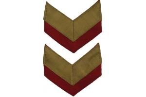Пара нарукавных знаков Генерала Армии образца 1940 года, копия