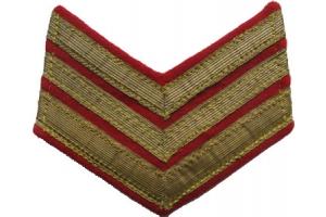 Пара нарукавных знаков Полковника образца 1940 года, копия