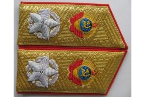 Погоны Генералиссимуса СССР образца 1945 года, тип 2 копия