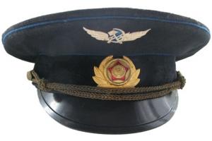Фуражка высшего начальствующего состава спецсвязи образца 1978-91, Советский Союз