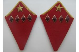 Петлицы командарма 1-ого ранга, РККА, копия